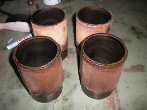 peugeot 205 1.6 /1.9 gti piston liners 83mm x 4 full set